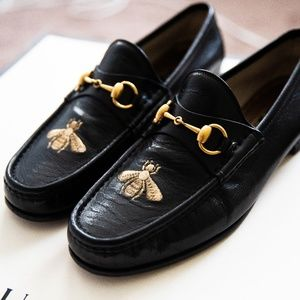 Gucci Leather loafer with bee, US 8, UK7.5